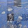 Peisaj subacvatic caluti de mare, pesti ... jocuri albastru