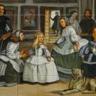 Las Meninas - Velazquez - Faianta pictata pentru restaurante - ARTELUX