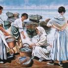 Cumparand peste la malul marii 2 - Decoruri artistice din faianta pictata pentru living ARTELUX