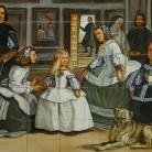 Las Meninas - Velazquez - Decoruri artistice din faianta pictata pentru living ARTELUX