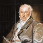 Goya - Decoruri artistice din faianta pictata pentru living ARTELUX