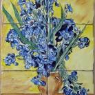 Irisi - Decoruri artistice din faianta pictata pentru living ARTELUX