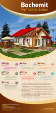 Beneficiile tratarii lemnului cu produsele Bochemit - BOCHEMIT