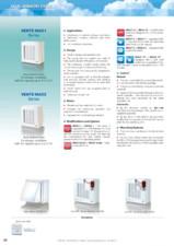 Ventilator fereastra diam 150mm 295mc/h VENTS