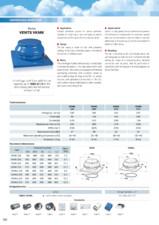 Ventilator de acoperis 600mc/h diam 150mm VENTS