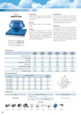 Ventilator de acoperis VOK 2E 300 VENTS
