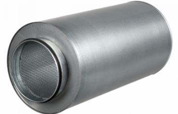 Accesorii ventilatie - Atenuatoare zgomot Atenuator zgomot diam 100mm, lungime 600mm, Atenuator zgomot diam 125mm, lungime 900mm, Conector antivibratie diam 150mm, Conector antivibratie diam 125mm, Conector antivibratie diam 100mm, Atenuator de zgomot 500x300mm