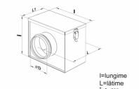 Accesorii ventilatie - Filtre si cutii filtrante Filtru G3 fi 315mm, Filtru SFK 250 G3, Filtru