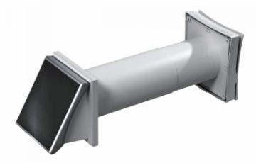 Ventilatie casnica inteligenta Ventilator alimentat cu panou solar diam 100mm, Ventilator cu recuperator de caldura ceramic, Twin Fresh SA 60, Ventilator axial fi 100-125mm iFAN