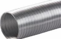 Accesorii ventilatie tubulatura flexibila Tub flexibil aluminiu diam 100 mm/3m, Tub flexibil
