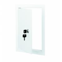 Accesorii ventilatie usite de vizitare pvc si metalice VENTS Usita de vizitare metalica cu cheie 200*300mm