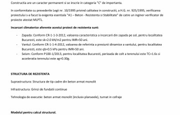 Proiect Structura de Rezistenta - Casa 200 mp - Giulesti Sarbi ArhiProPub