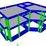 Casa 200 mp - Giulesti Sarbi - Modelare 3D