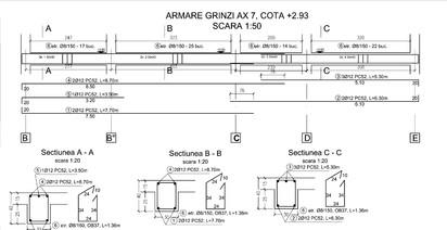 Proiect Structura de Rezistenta - Casa 200 mp - Giulesti Sarbi / Grinzi - Casa 200 mp - Giulesti Sarbi