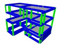 Proiectare structuri beton Firma SC ArhiProPub SRL optimizeaza proiectele de structura de rezistenta astfel incat proiectul