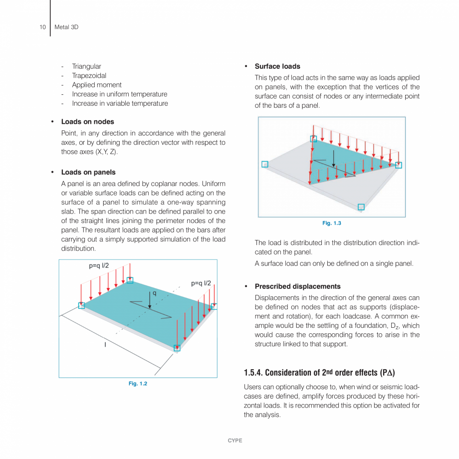 Pagina 10 - Manual de calcule CYPE CYPE 3D Fisa tehnica Engleza  any type of structure carrying out ...