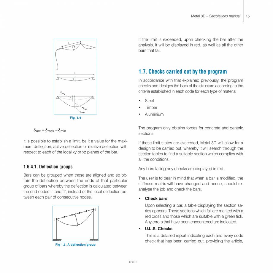 Pagina 15 - Manual de calcule CYPE CYPE 3D Fisa tehnica Engleza l 3D - Calculations manual  The...