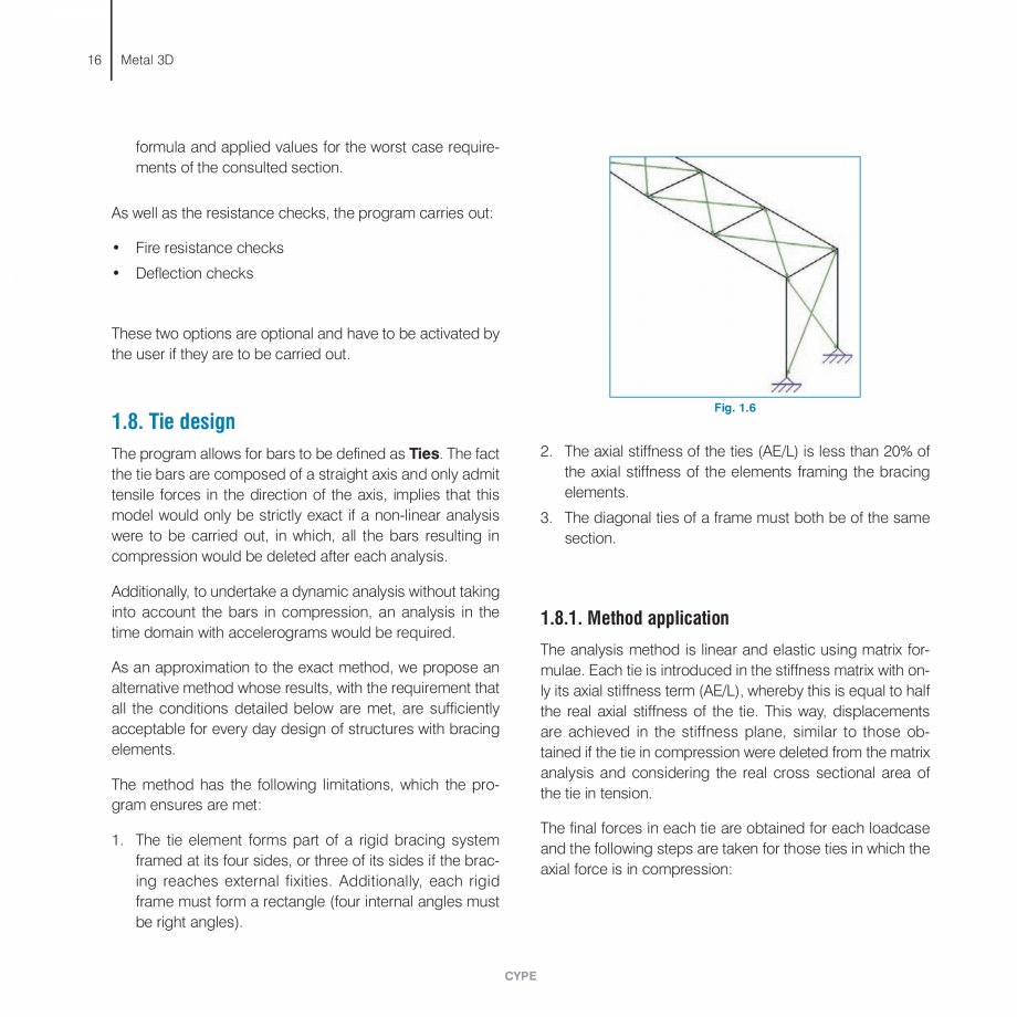 Pagina 16 - Manual de calcule CYPE CYPE 3D Fisa tehnica Engleza gory and code have been selected,...