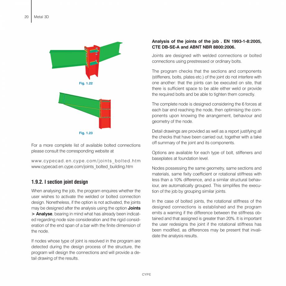 Pagina 20 - Manual de calcule CYPE CYPE 3D Fisa tehnica Engleza e established, assuming a stiffness ...