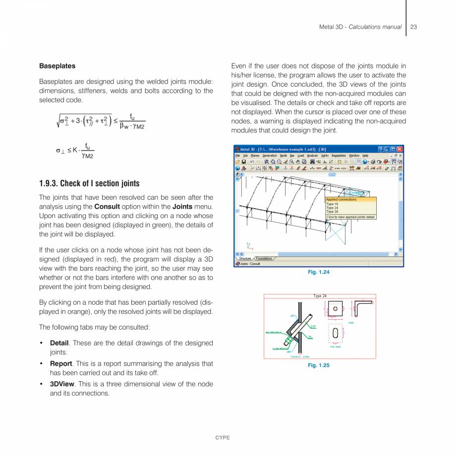 Pagina 23 - Manual de calcule CYPE CYPE 3D Fisa tehnica Engleza 990 applies a moment amplification...