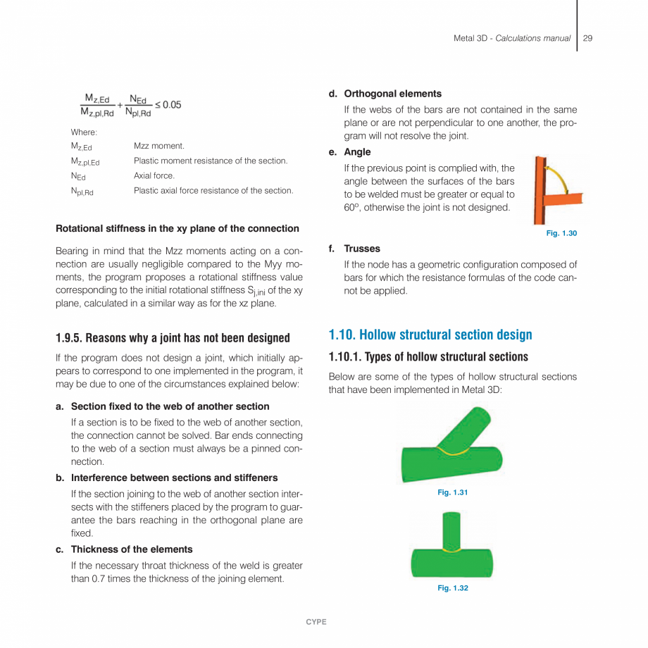 Pagina 29 - Manual de calcule CYPE CYPE 3D Fisa tehnica Engleza o transverse elements defined,...