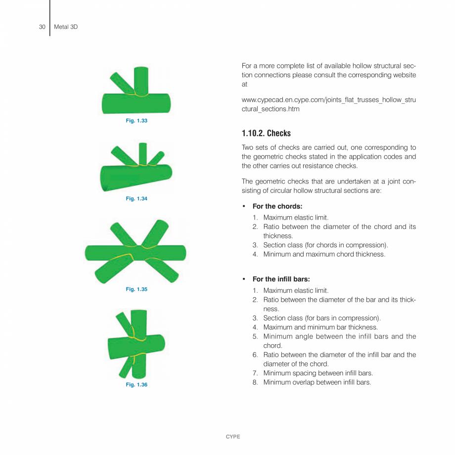 Pagina 30 - Manual de calcule CYPE CYPE 3D Fisa tehnica Engleza CYPE  Metal 3D - Calculations...