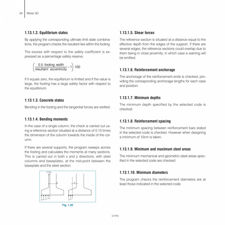 Pagina 34 - Manual de calcule CYPE CYPE 3D Fisa tehnica Engleza  must form a rectangle (four...