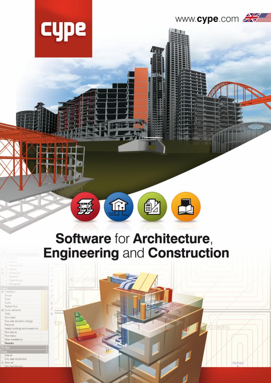 Pagina 1 - CYPE International - Software pentru arhitectura, inginerie si constructii CYPE CYPE 3D, ...