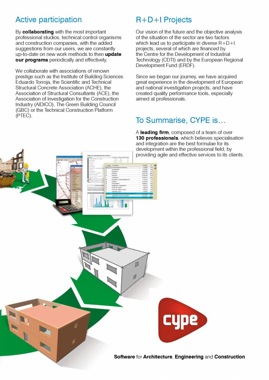 Pagina 3 - CYPE International - Software pentru arhitectura, inginerie si constructii CYPE CYPE 3D, ...