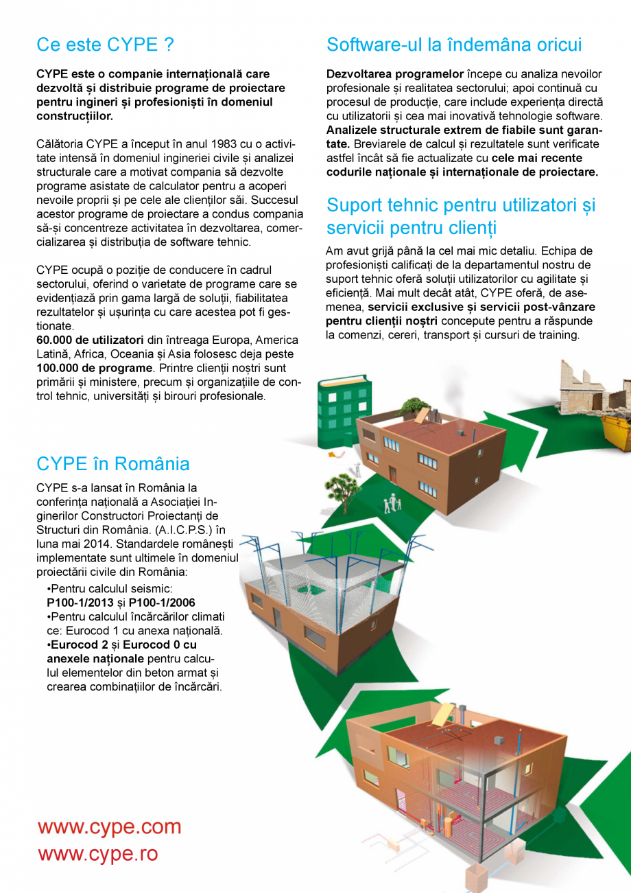 Pagina 2 - CYPE Romania - Software pentru arhitectura, inginerie si constructii CYPE CYPE 3D,...