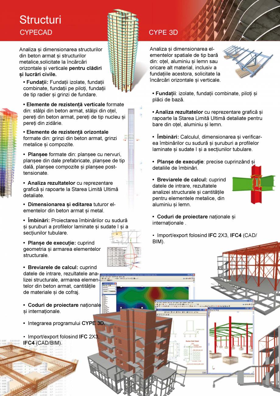 Pagina 4 - CYPE Romania - Software pentru arhitectura, inginerie si constructii CYPE CYPE 3D,...