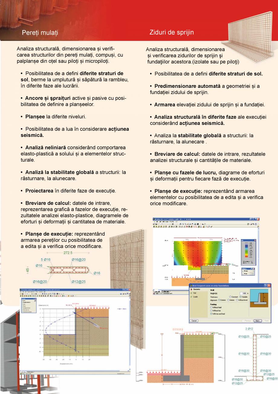 Pagina 5 - CYPE Romania - Software pentru arhitectura, inginerie si constructii CYPE CYPE 3D,...