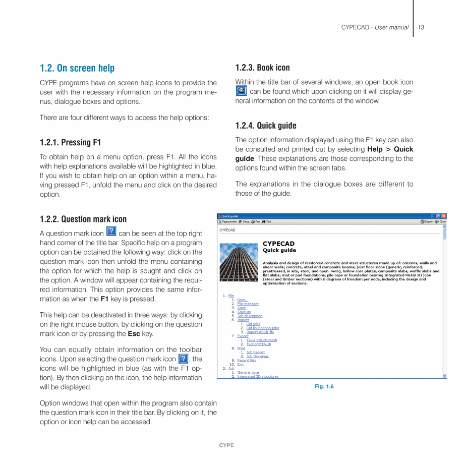 Pagina 13 - Manual de utilizare CYPE CYPECAD Instructiuni montaj, utilizare Engleza  7.1.3.2....