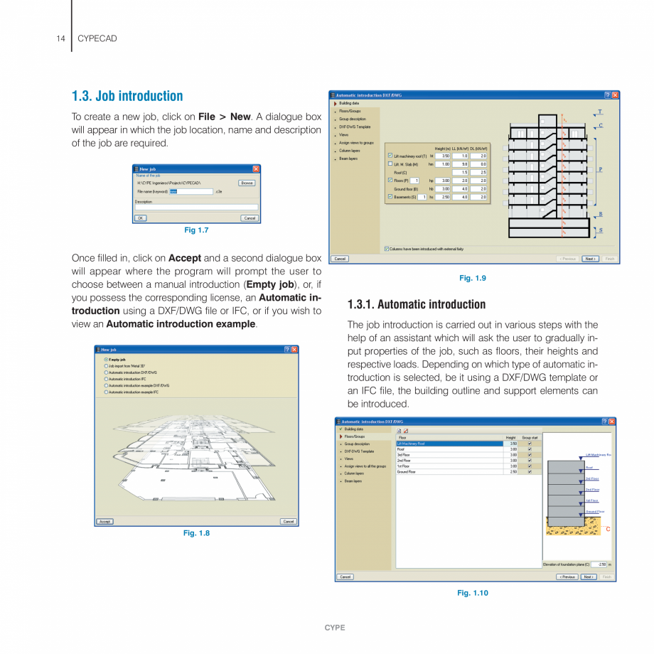 Pagina 14 - Manual de utilizare CYPE CYPECAD Instructiuni montaj, utilizare Engleza . .79  6.2.7.1. ...