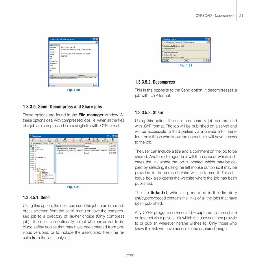 Pagina 21 - Manual de utilizare CYPE CYPECAD Instructiuni montaj, utilizare Engleza  module . . . . ...