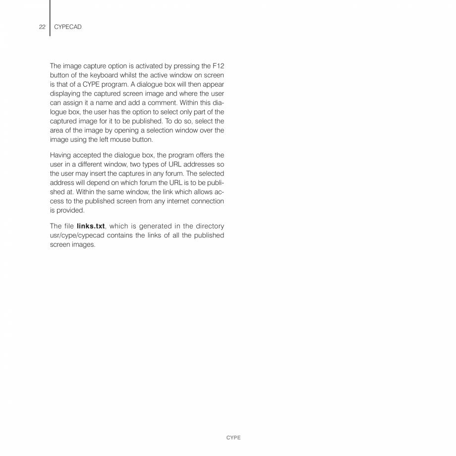 Pagina 22 - Manual de utilizare CYPE CYPECAD Instructiuni montaj, utilizare Engleza rcement tables...