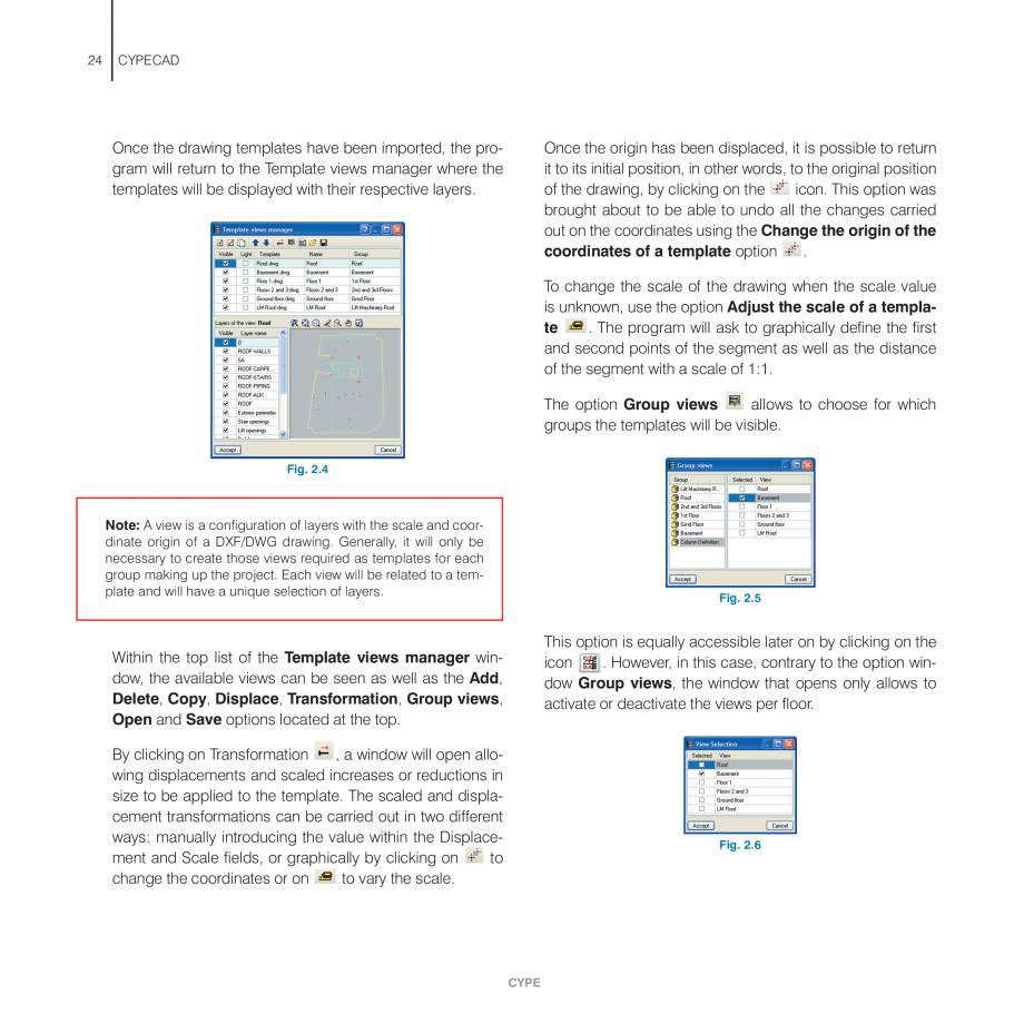 Pagina 24 - Manual de utilizare CYPE CYPECAD Instructiuni montaj, utilizare Engleza . . . . . . . . ...