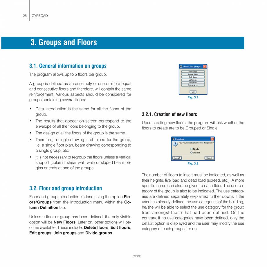 Pagina 26 - Manual de utilizare CYPE CYPECAD Instructiuni montaj, utilizare Engleza o the latest...