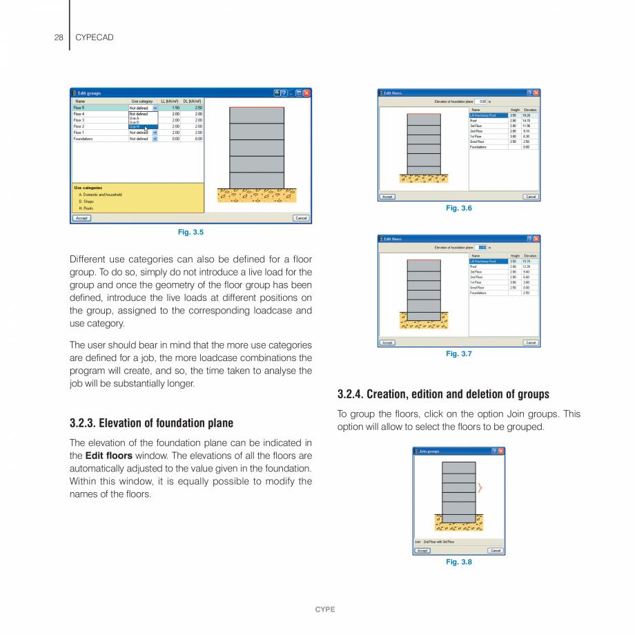 Pagina 28 - Manual de utilizare CYPE CYPECAD Instructiuni montaj, utilizare Engleza ch upon clicking...