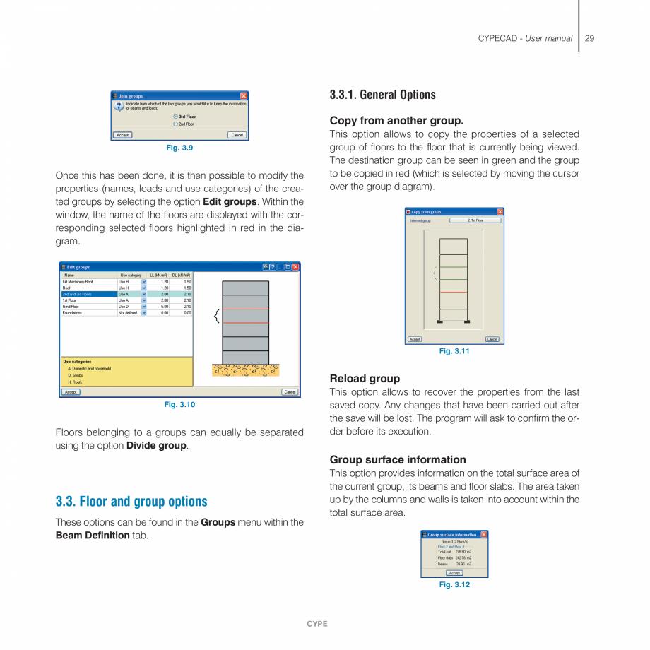 Pagina 29 - Manual de utilizare CYPE CYPECAD Instructiuni montaj, utilizare Engleza an be obtained...