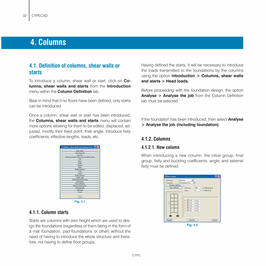Pagina 32 - Manual de utilizare CYPE CYPECAD Instructiuni montaj, utilizare Engleza ill be generated...