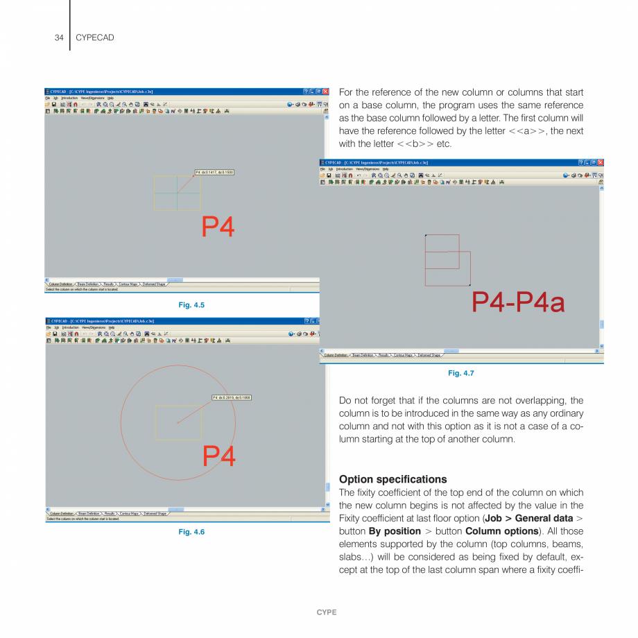 Pagina 34 - Manual de utilizare CYPE CYPECAD Instructiuni montaj, utilizare Engleza ror...
