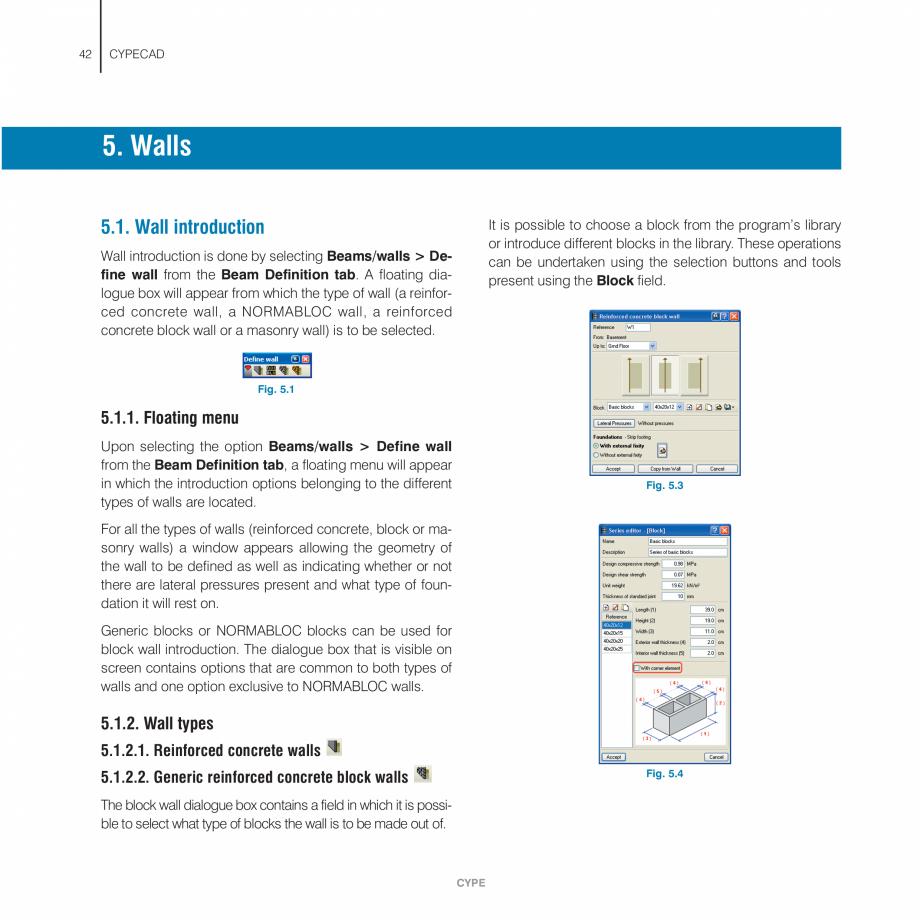 Pagina 42 - Manual de utilizare CYPE CYPECAD Instructiuni montaj, utilizare Engleza es will appear...