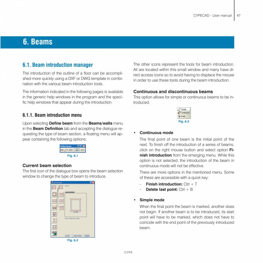 Pagina 47 - Manual de utilizare CYPE CYPECAD Instructiuni montaj, utilizare Engleza ries exist per...