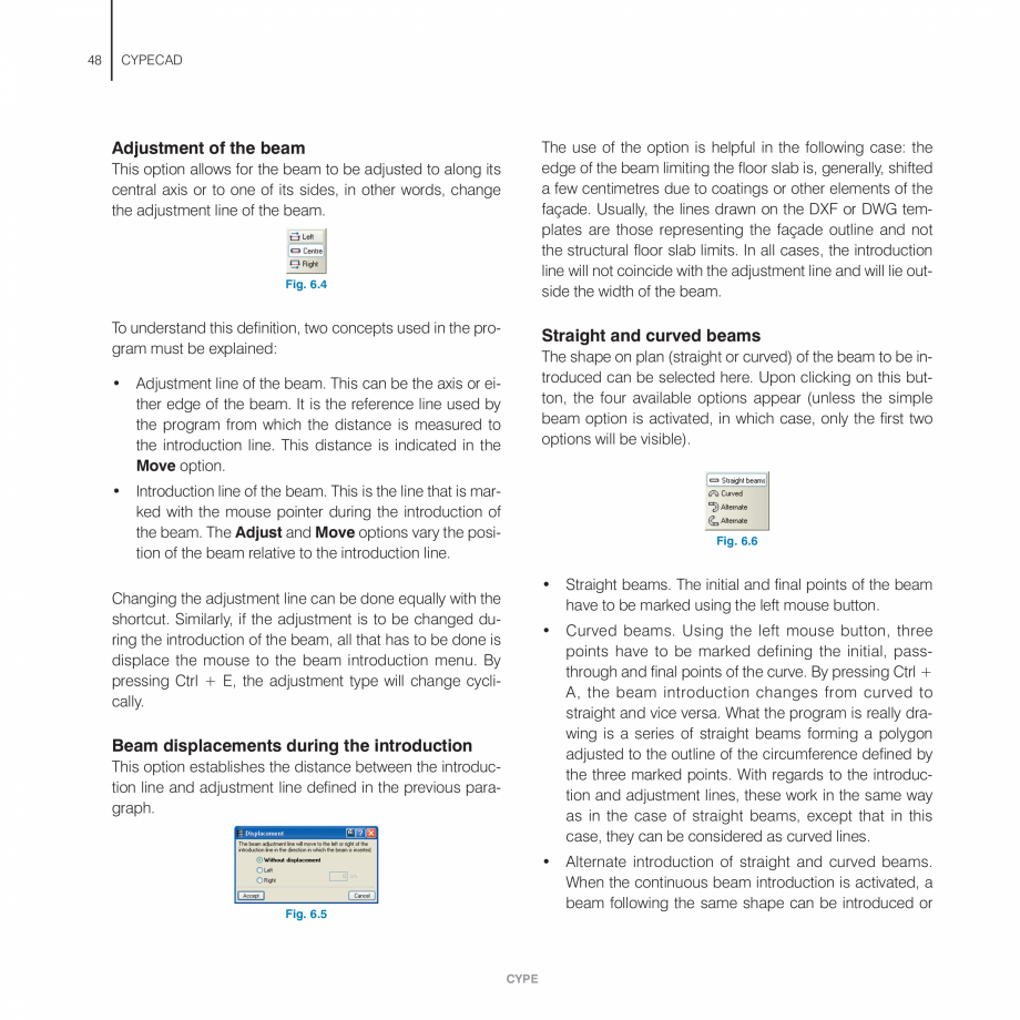 Pagina 48 - Manual de utilizare CYPE CYPECAD Instructiuni montaj, utilizare Engleza  automatic...