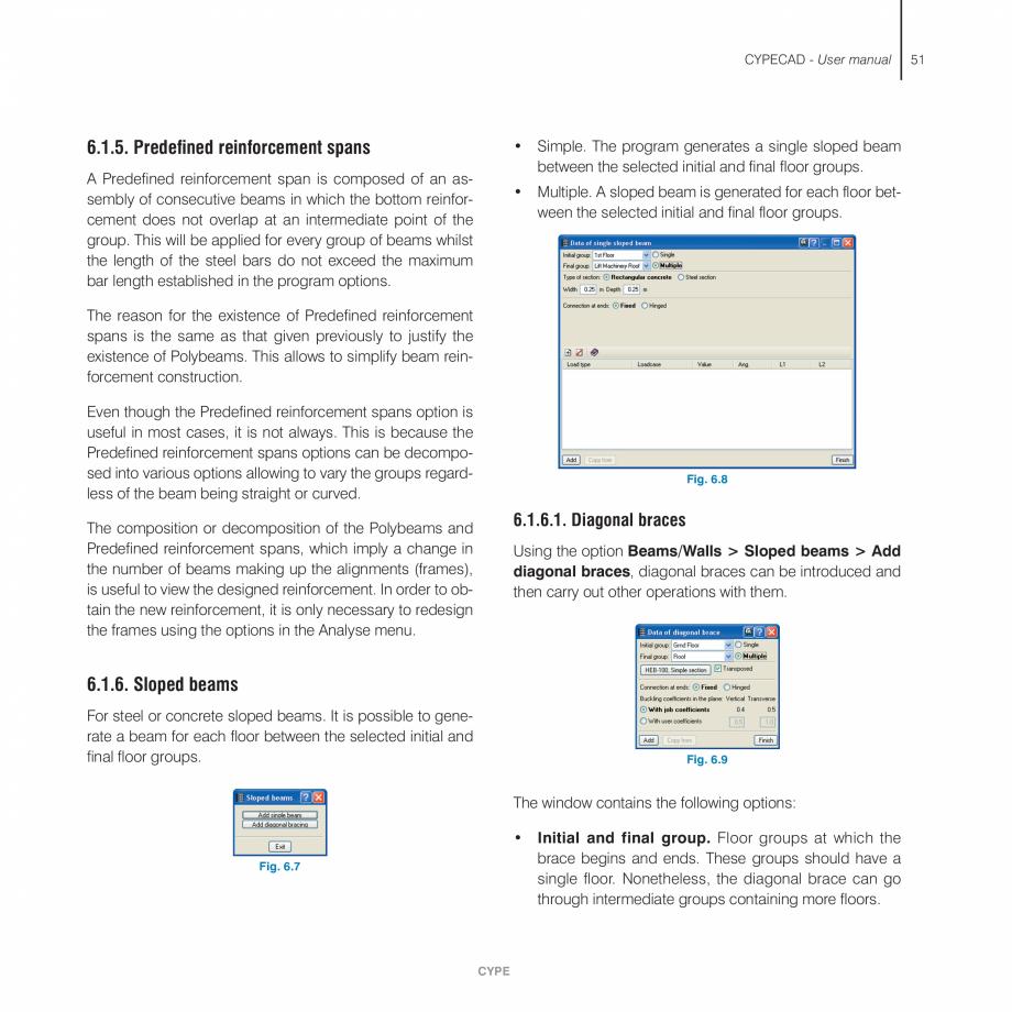 Pagina 51 - Manual de utilizare CYPE CYPECAD Instructiuni montaj, utilizare Engleza   3.3. Floor and...