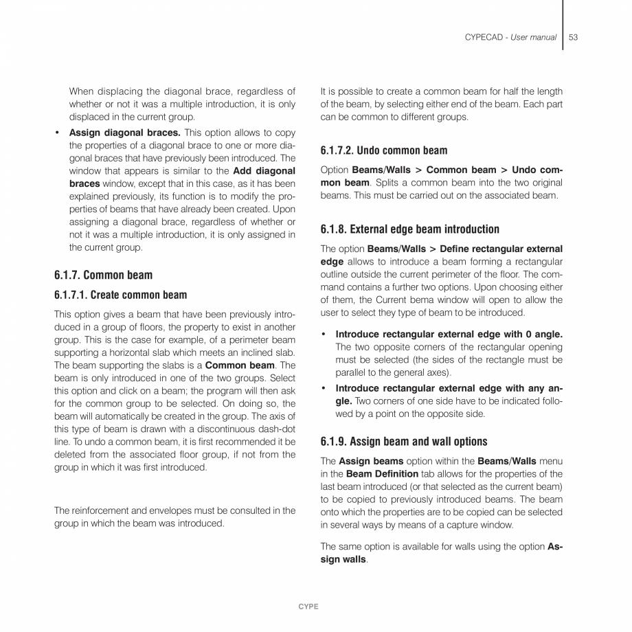 Pagina 53 - Manual de utilizare CYPE CYPECAD Instructiuni montaj, utilizare Engleza  Fig. 3.16 ...