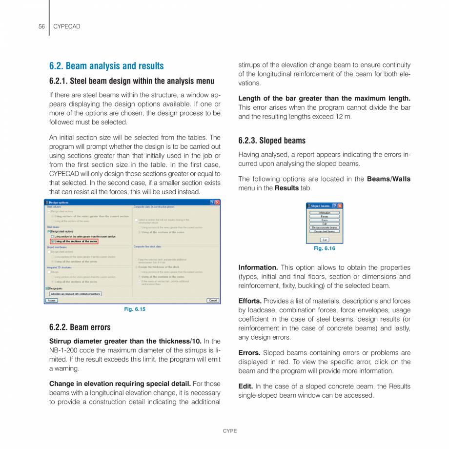 Pagina 56 - Manual de utilizare CYPE CYPECAD Instructiuni montaj, utilizare Engleza urn to the main ...