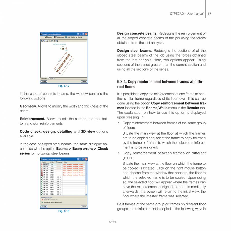 Pagina 57 - Manual de utilizare CYPE CYPECAD Instructiuni montaj, utilizare Engleza f the new column...