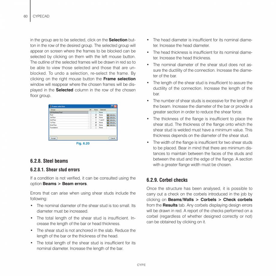 Pagina 60 - Manual de utilizare CYPE CYPECAD Instructiuni montaj, utilizare Engleza d will appear on...
